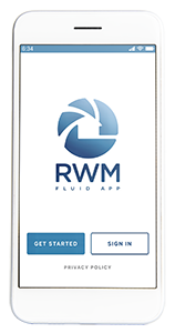 The RWM Fluid Mobile App streamlines the process to buy a home or refinance a home, as well as helps you get pre approved